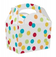Spotty Polka Dot Meal Party Box